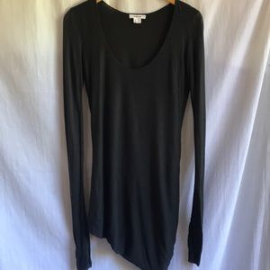 Helmut Lang dark grey shirt